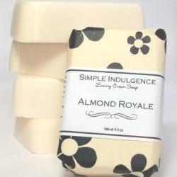 Almond Royale Soap, Shea Simple Indulgence, Creamy lather